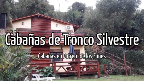 Cabañas de Tronco Silvestre